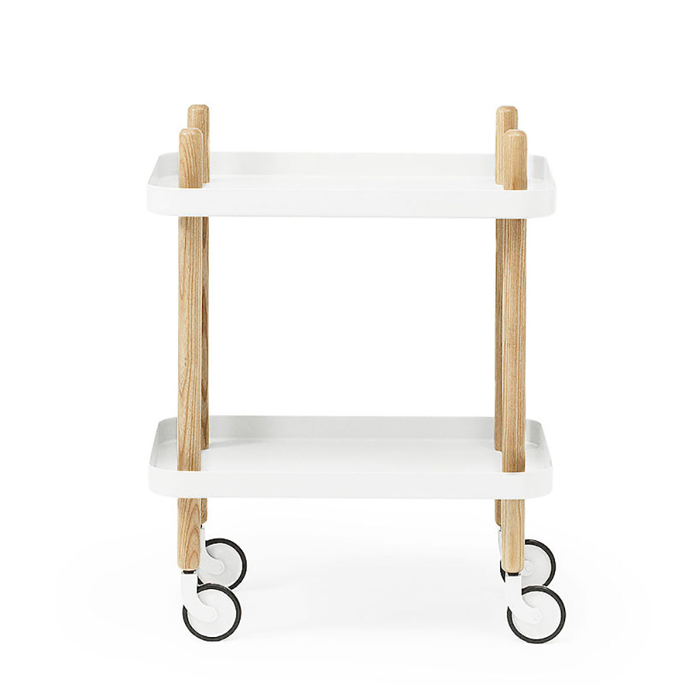 top3 by design normann copenhagen normann copenhagen block table white. Black Bedroom Furniture Sets. Home Design Ideas