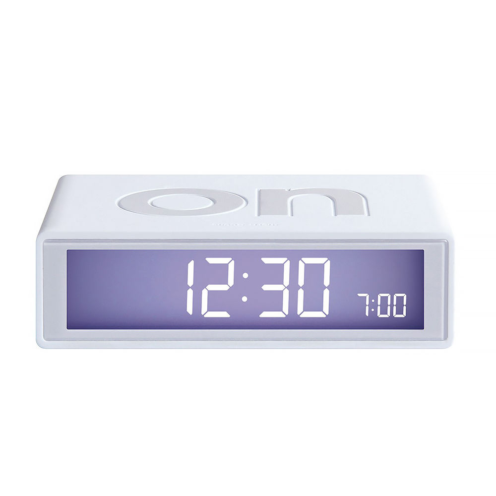 lexon flip alarm clock instructions