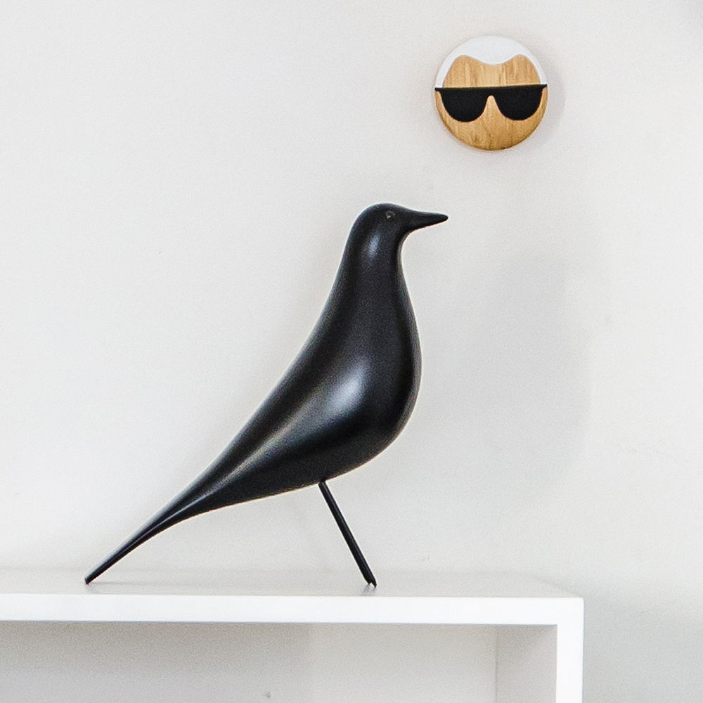 top3 by design vitra vitra eames house bird black. Black Bedroom Furniture Sets. Home Design Ideas