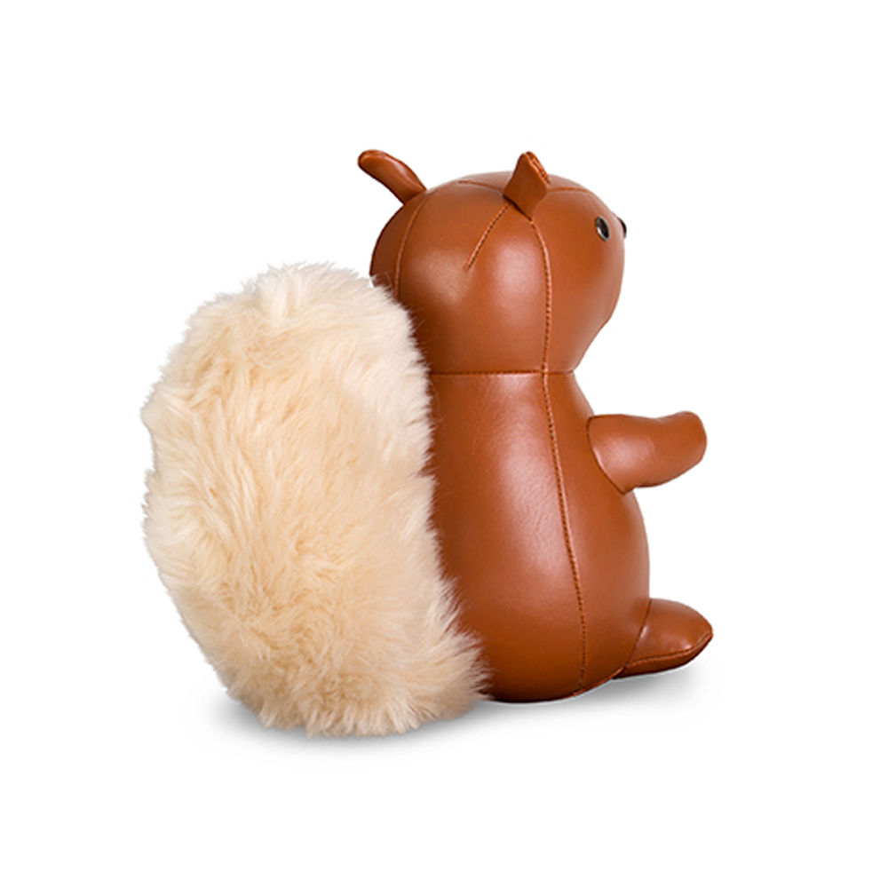 top3 by design zuny zuny bookend squirrel tan. Black Bedroom Furniture Sets. Home Design Ideas