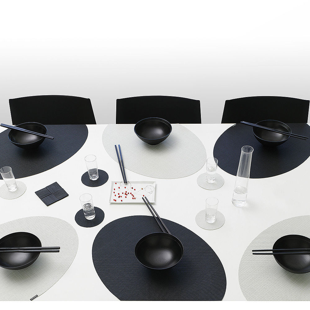 Top3 By Design Chilewich Chilewich Onedge Placemat Set Sandstone