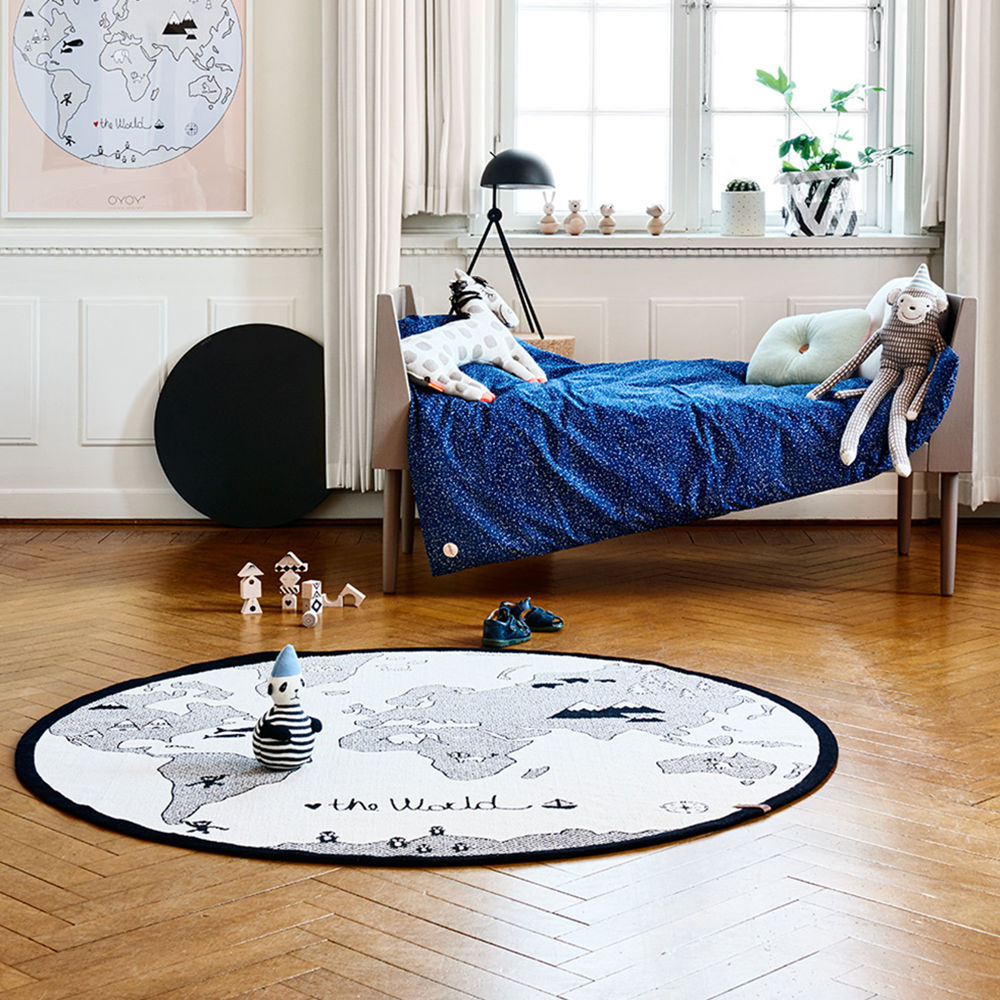 World Map Baby Rug: Top3 By Design