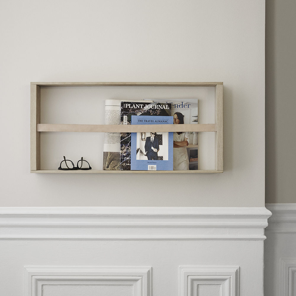 top3 by design - Skagerak - norr magazine holder oak