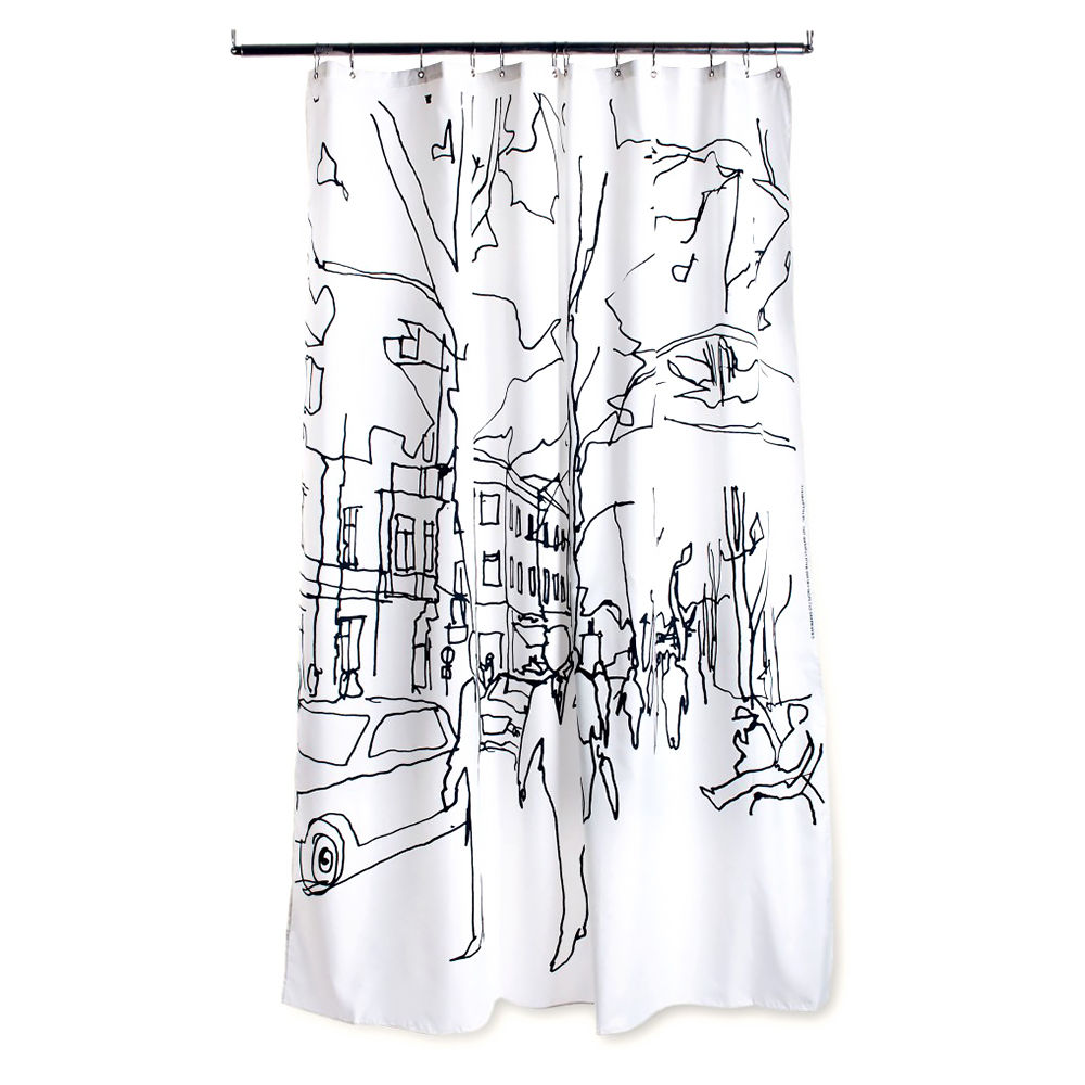 Marimekko Hetkia Moments Showercurtain 1000