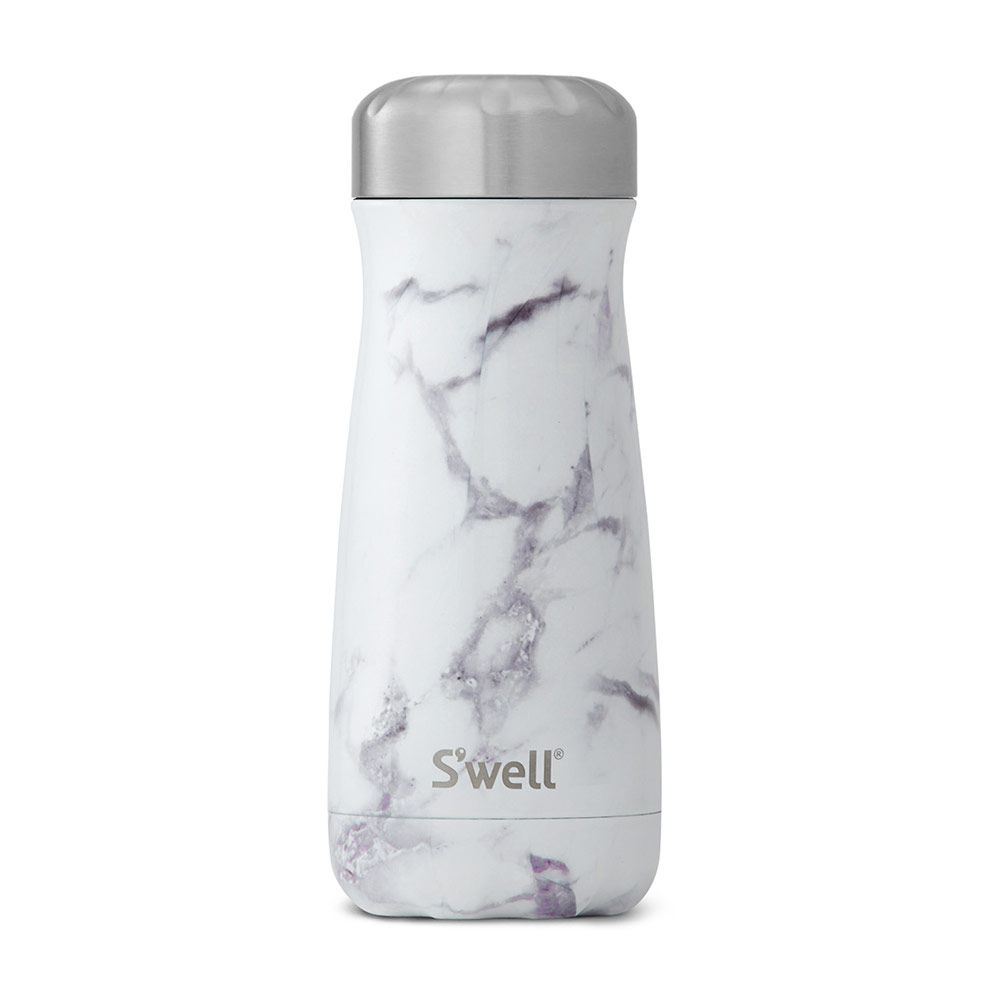 Top3 By Design Swell Swell Bottle 470ml White Marble