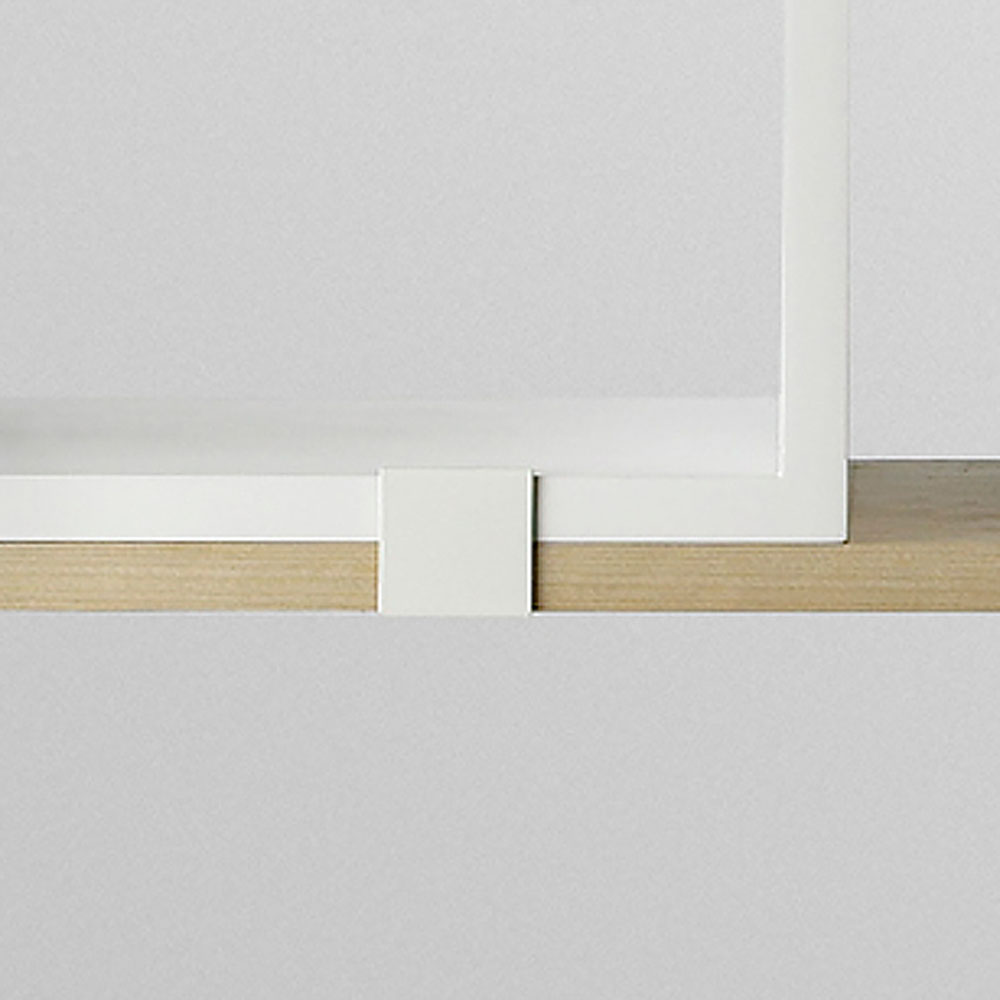 top3 by design muuto new nordic muuto stacked clip pk 5 white. Black Bedroom Furniture Sets. Home Design Ideas