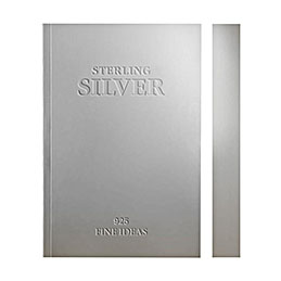 slab notebook silver etched 800