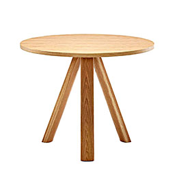 plateau table round 900 800