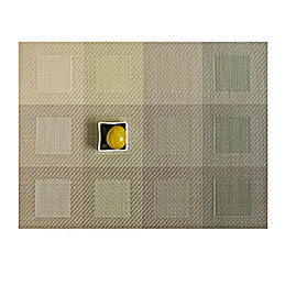 chilewich table engineered squares green rectangle 800