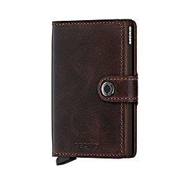 secrid wallet m vintage chocolate 1000