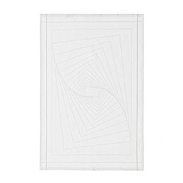 normann copenhagen 310651 illusion tea towel white 1000