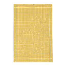 normann copenhagen 310658 illusion tea towel yellow 1000