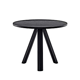 go home plateau table round black 900mm 1000