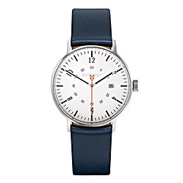 mister wolf watch model 029 navy white silver 1000