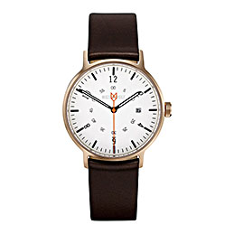 mister wolf watch model 310 brown gold 1000