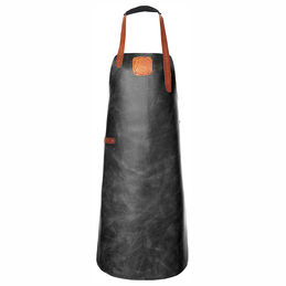 witloft leather apron black cognac 1000