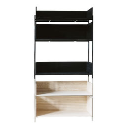 vivlio shelving system etch kit 1 ash blonde 1000