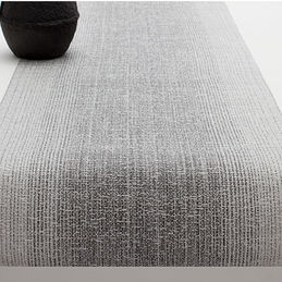 chilewich ombre silver runner 1000