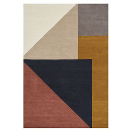 linie design arguto multi wool rug 1000