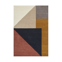 linie design arguto multi wool rug small 1000