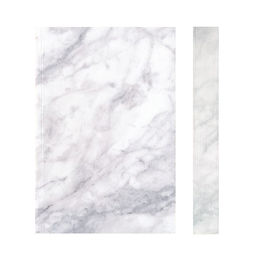 slab notebook marble white etched 1000