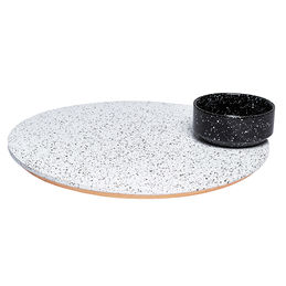 eclipse rotating platter with bowl doiy 3 1000