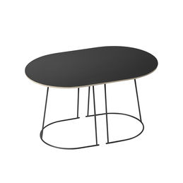 airy table small black muuto 1000