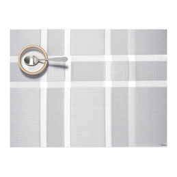 chilewich interlace silver tablemat 1 1000