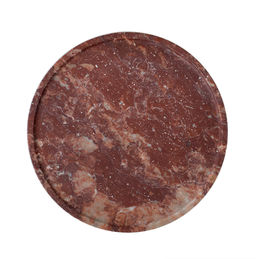 addition studio red marble tray 1000