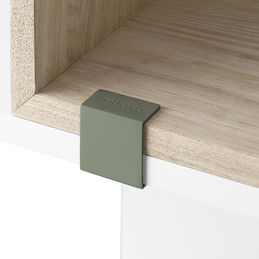 muuto stacked clips dusty green 1000