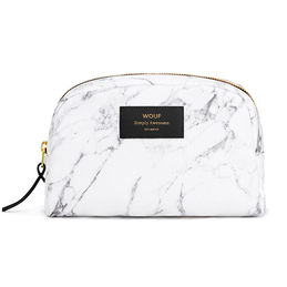 wouf big beauty white marble 4 wf travel makeup bag 1000