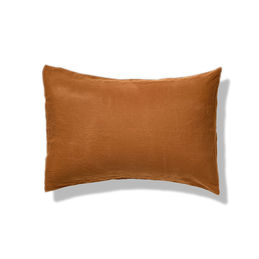 in bed linen pillowcase tobacco 1000