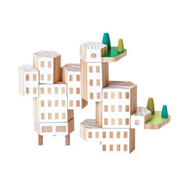 areaware blockitecture garden city classic set 6 1000
