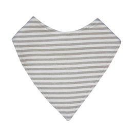 mister fly dribble bib grey stripe 1000