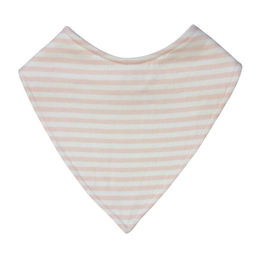 mister fly dribble bib pink stripe 1000