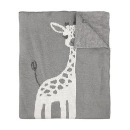 mister fly knitted blanket giraffe 1000