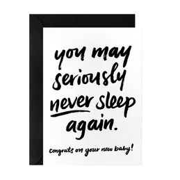 galina dixon you may seriously never sleep again greeting card 1000
