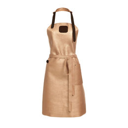 witloft leather apron gold dark brown 1000