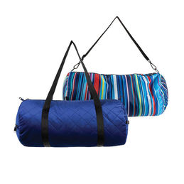 loqi weekender bag quilted blue inside outside 1000