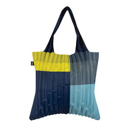 loqi pleated shopping bag sunshine 1000