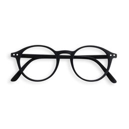 izipizi d black reading glasses 1000