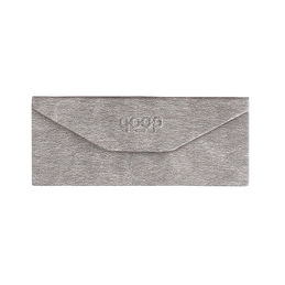 qp foldable glasses case grey 1000