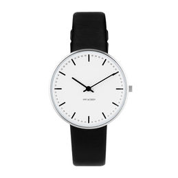 arne jacobsen city hall watch 34mm 53201 1601 face 1000