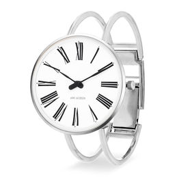 arne jacobsen roman watch 34mm 53301 1618 bangle 1000