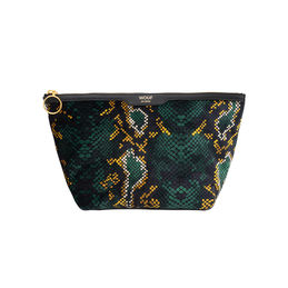 wouf velvet beauty bag snakeskin main 1000