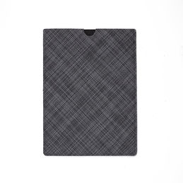 chilewich tablet sleeve large basketweave cool grey main 1000