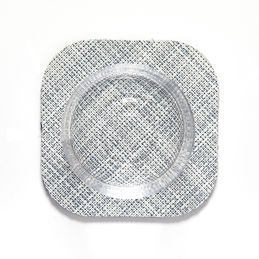 chilewich mini basketweave square coaster mist main 1000