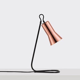 ross gardam silhouette desk lamp copper 1000