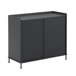 muuto enfold sideboard tall mono black angle 1000