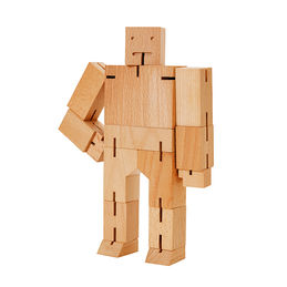 areaware cubebot medium natural 1 1000